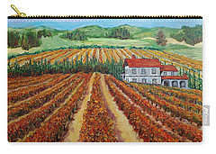 Napa Valley Autumn Carry-all Pouch by Mike Caitham