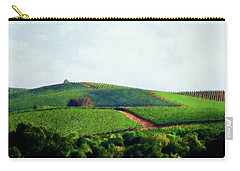 Napa Valley Vineyards 3 Carry-all Pouch by Timothy Bulone