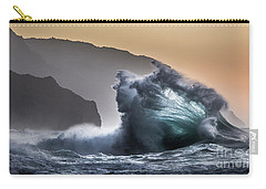 Napali Coast Hawaii Wave Explosion IIi Carry-all Pouch