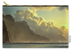 Napali Coast Kauai Hawaii Dramatic Sunset Carry-all Pouch