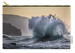 Napali Coast Kauai Wave Explosion Carry-all Pouch