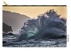 Napali Coast Kauai Wave Explosion Hawaii Carry-all Pouch