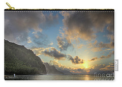 Napali Coast Sunset Kauai Carry-all Pouch
