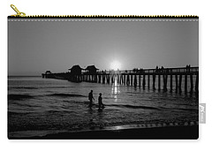 Naples Florida Pier Sunset Carry-all Pouch