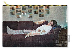 Naptime With The Boys Carry-all Pouch