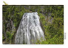 Narada Falls In Mount Rainier National Park Carry-all Pouch