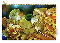 Carry-all Pouch featuring the photograph Narcissus by Jolanta Anna Karolska