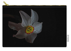 Carry-all Pouch featuring the photograph Narcissus by Susan Capuano