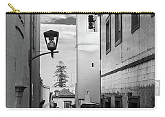 Narrow Street And Bell Tower In Tavira - Portugal Carry-all Pouch