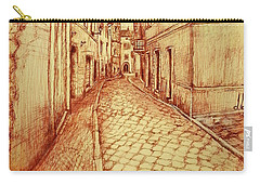 Narrow Street Of Lovere Italy Carry-all Pouch