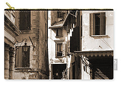 Narrow Streets Of Asolo Carry-all Pouch