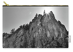 Carry-all Pouch featuring the photograph Narrows Pinnacle Boulder Canyon by James BO Insogna