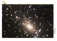 Carry-all Pouch featuring the photograph Nasa's Hubble Looks To The Final Frontier by Nasa