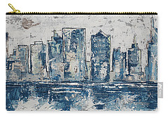 Nashville In Blues Carry-all Pouch