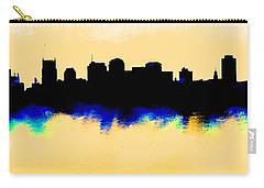 Nashville  Skyline  Carry-all Pouch by Enki Art