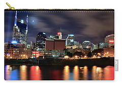 Nashville Skyline Carry-all Pouch by Frozen in Time Fine Art Photography