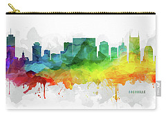 Nashville Skyline Mmr-ustnna05 Carry-all Pouch by Aged Pixel