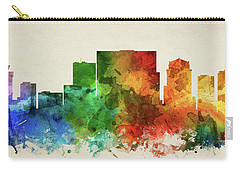 Nashville Skyline Panorama Ustnna-pa03 Carry-all Pouch