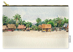 Nassau, Cook Islands, South Pacific Carry-all Pouch