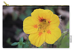 Nasturtium And Thyme Carry-all Pouch