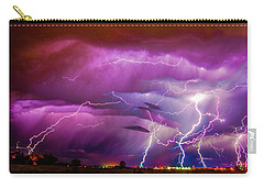 Nasty But Awesome Late Night Lightning 008 Carry-all Pouch