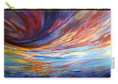 Natchez Sky Carry-all Pouch by Jan VonBokel