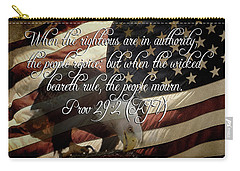 Nation In Mourning Carry-all Pouch