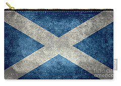 National Flag Of Scotland Vintage Version Carry-all Pouch