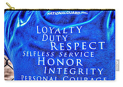 National Guard Shirt 21 Carry-all Pouch
