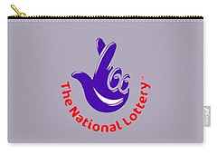 National Lottery T-shirt Carry-all Pouch by Herb Strobino