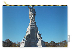 National Monument To The Fore Fathers Carry-all Pouch by Catherine Gagne