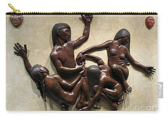 National Museum Of The American Indian 6 Carry-all Pouch by Randall Weidner