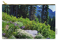 National Park Wildflowers Carry-all Pouch