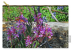 Carry-all Pouch featuring the photograph National Parks. From The Ashes To New Life. by Ausra Huntington nee Paulauskaite