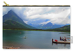 National Parks. Serenity Of Mcdonald Carry-all Pouch by Ausra Huntington nee Paulauskaite