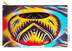 Native American Basket 1 Carry-all Pouch