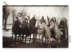 Native American Chiefs - To License For Professional Use Visit Granger.com Carry-all Pouch