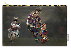 Native American Dancers Carry-all Pouch