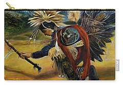 Native American Rain Dance Carry-all Pouch