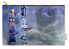 Carry-all Pouch featuring the photograph Native Ghosts by Jeff Burgess