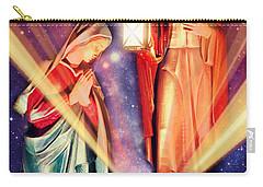 Nativity Christmas Card IIi Carry-all Pouch