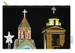 Nativity Church Lights Carry-all Pouch