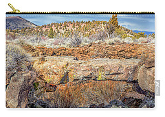 Natural Bridge At Lava Beds Carry-all Pouch