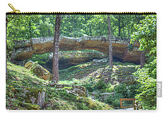 Natural Bridge Of Arkansas Carry-all Pouch