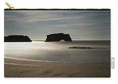 Natural Bridges State Beach Sand Carry-all Pouch