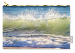 Carry-all Pouch featuring the photograph Natural Chaos, Quinns Beach by Dave Catley