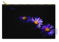 Carry-all Pouch featuring the digital art Natural Fireworks by Timothy Hack