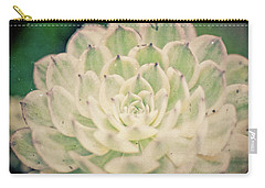 Carry-all Pouch featuring the photograph Natural Geometry by Ana V Ramirez