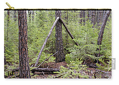 Natural Peace In The Woods Carry-all Pouch