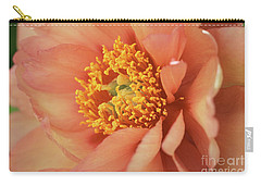 Natural Peach Beauty Carry-all Pouch
